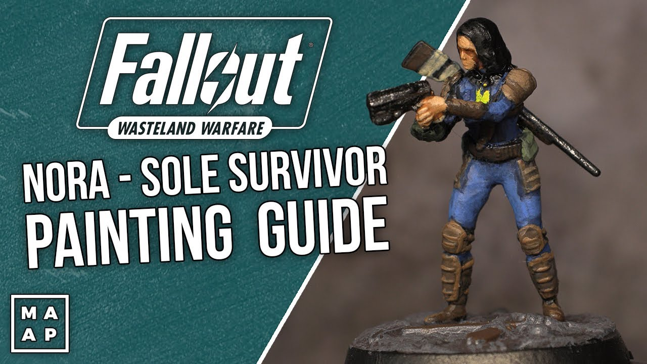 Nora: Sole Survivor Painting Tutorial from Fallout Wasteland Warfare