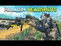 PALADIN HEADSHOTS - Blackout