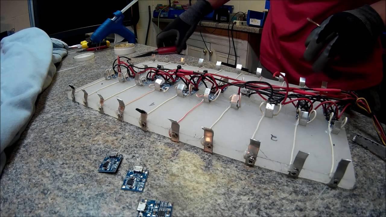 Diy Tesla Powerwall Uk Diy Powerwall 18650 Quot Tesla Style Quot Battery Soldering