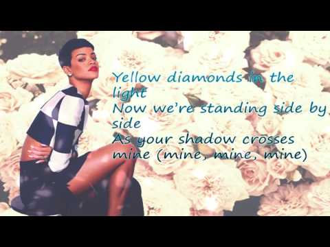 Rihanna -  We Found Love - LYRICS