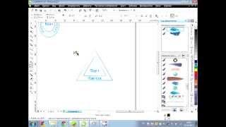 Видео урок в Corel Draw, создание 3 разных вида печати