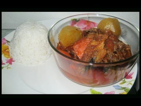 African Smoked Fish Soup - African Food Recipes