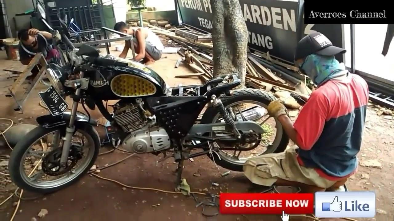 Membangun Motor Japstyle Basic Motor Suzuki Thunder N 125 Part 2
