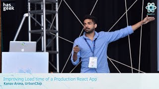 Improving Load time of a Production React App