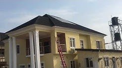 Solar in Nigeria 64: 4KW Installation at Home Construction Stage