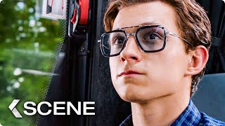 Peter finds Iron Man's EDITH Scene - SPIDER-MAN: FAR FROM HOME (2019)