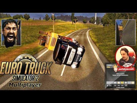 Otobanda Pis Takla   Euro Truck Simulator 2 Türkçe Multiplayer
