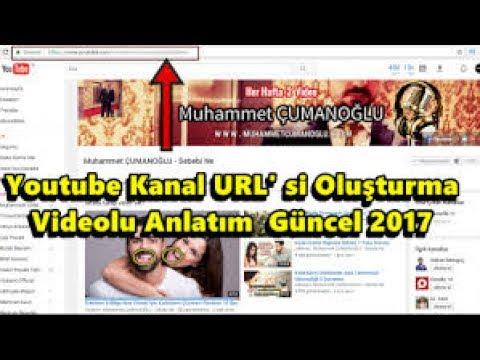 Youtube Kanal URL'Si Oluşturma [Videolu Anlatım] I Çok Basit !! 2017