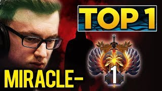 Miracle- Still Trying Hard To Reach TOP 1 MMR in Europe - Possible before #TI9 Starts? Dota 2