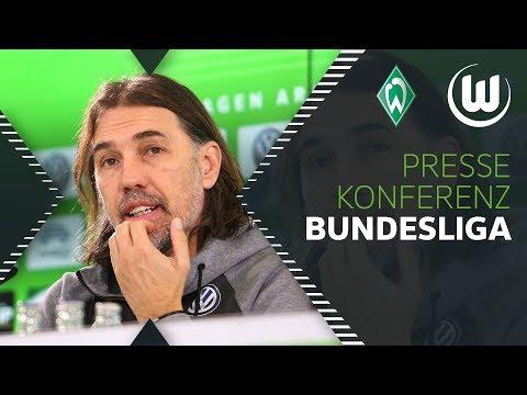 Mentalität schlägt Qualität. Bremen der Favorit? | Pressekonferenz | Werder Bremen - VfL Wolfsburg