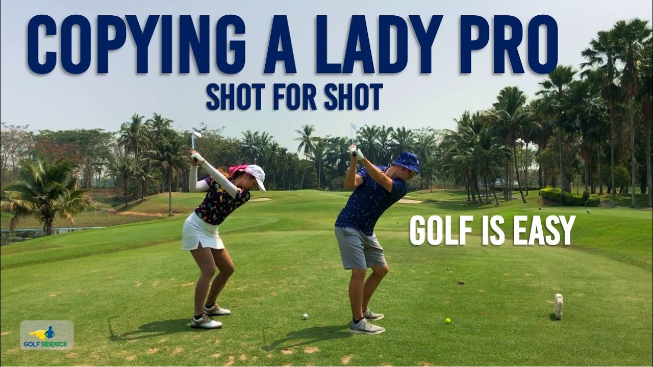 Lady Pro Teaches Me THE WAY - How to Play Golf Easy Like a Pro
