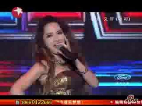 20130811《中國夢之聲》夏日歡唱會 - 李玟、艾菲合唱《叩叩》