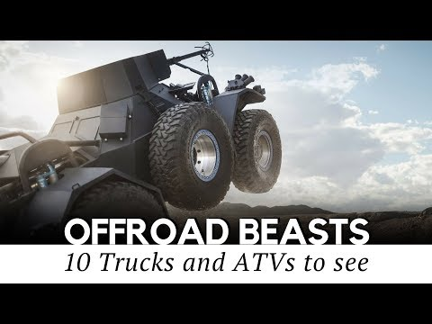 10 Custom Trucks and Unstoppable Off-Road Machines You Must See (2018 Review)