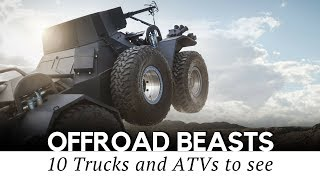 Video 10 Custom Trucks and Unstoppable Off-Road Machines You Must See (2018 Review) download MP3, 3GP, MP4, WEBM, AVI, FLV Juni 2018