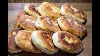 Быстрые пирожки с зеленым луком и яйцом \ Лучшее тесто для пирожков