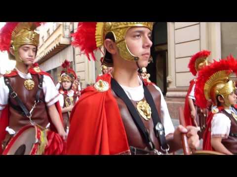 SEMANA SANTA 2014 Cartagena desfile soldados romanos californios