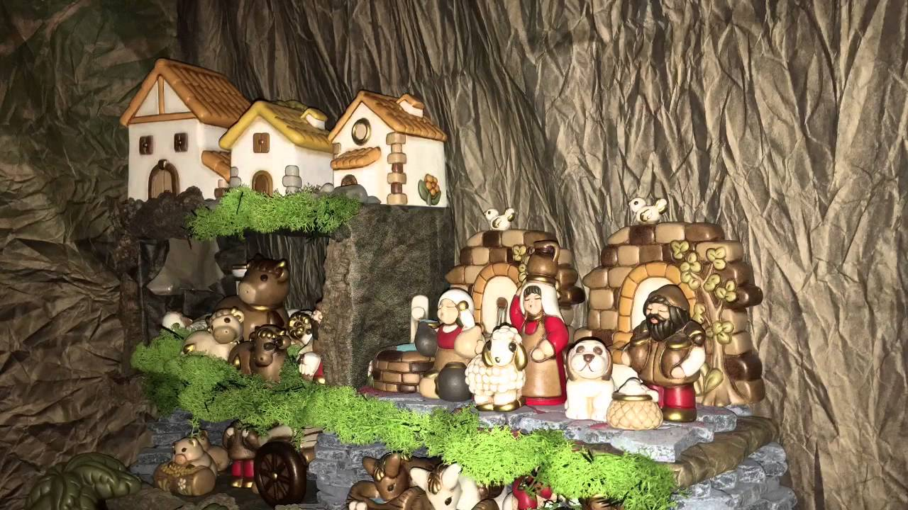 Presepe Thun Natale 2015 - YouTube