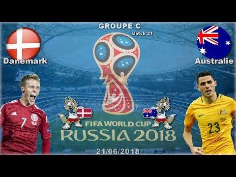 Danemark - Australie | FIFA Coupe Du Monde 2018 [Groupe C] #21