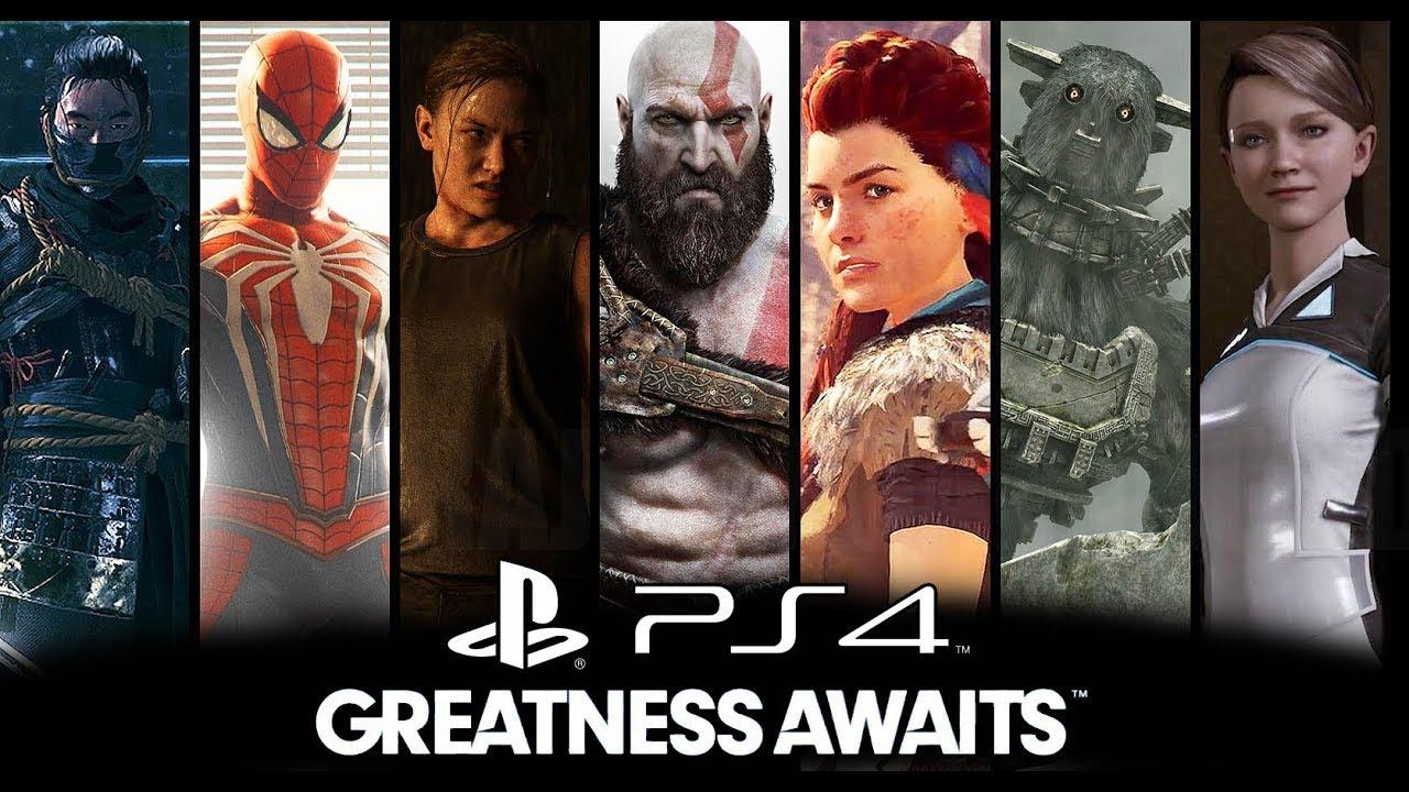 Hasil gambar untuk playstation 4 exclusive games