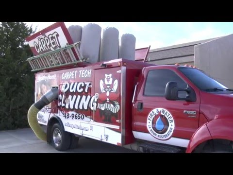 Air Duct Cleaning By Carpet Tech Youtube
