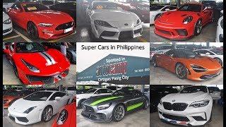 Super Cars In Manila Philippines At Autocamp Ortigas Pasig City + 488 Pista, 720s, Gr Supra & More