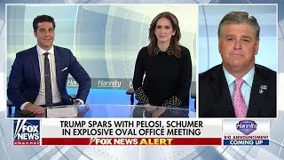 Trump Spars With Pelosi, Schumer In Oval Office Meeting
