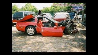 compilation di auto di lusso distrutte/luxury cars wrecked