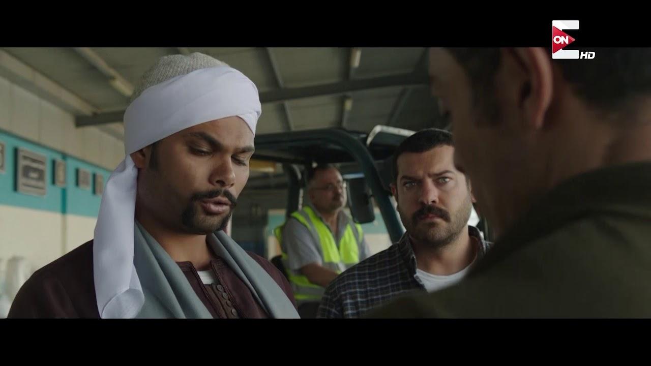 مسلسل طايع - المعلم حربي بيهرب الآثار قدام الحكومة في عز الظهر