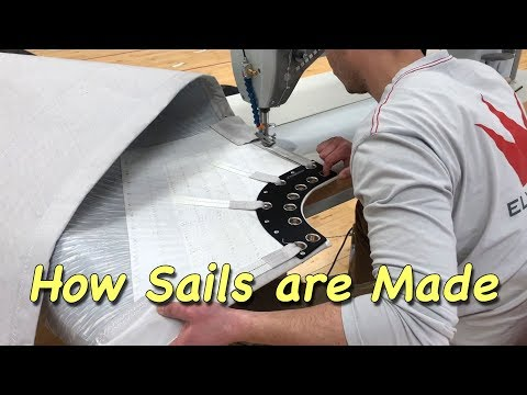 How Sails Are Made - A Visit To The Elvstrom Sails Loft