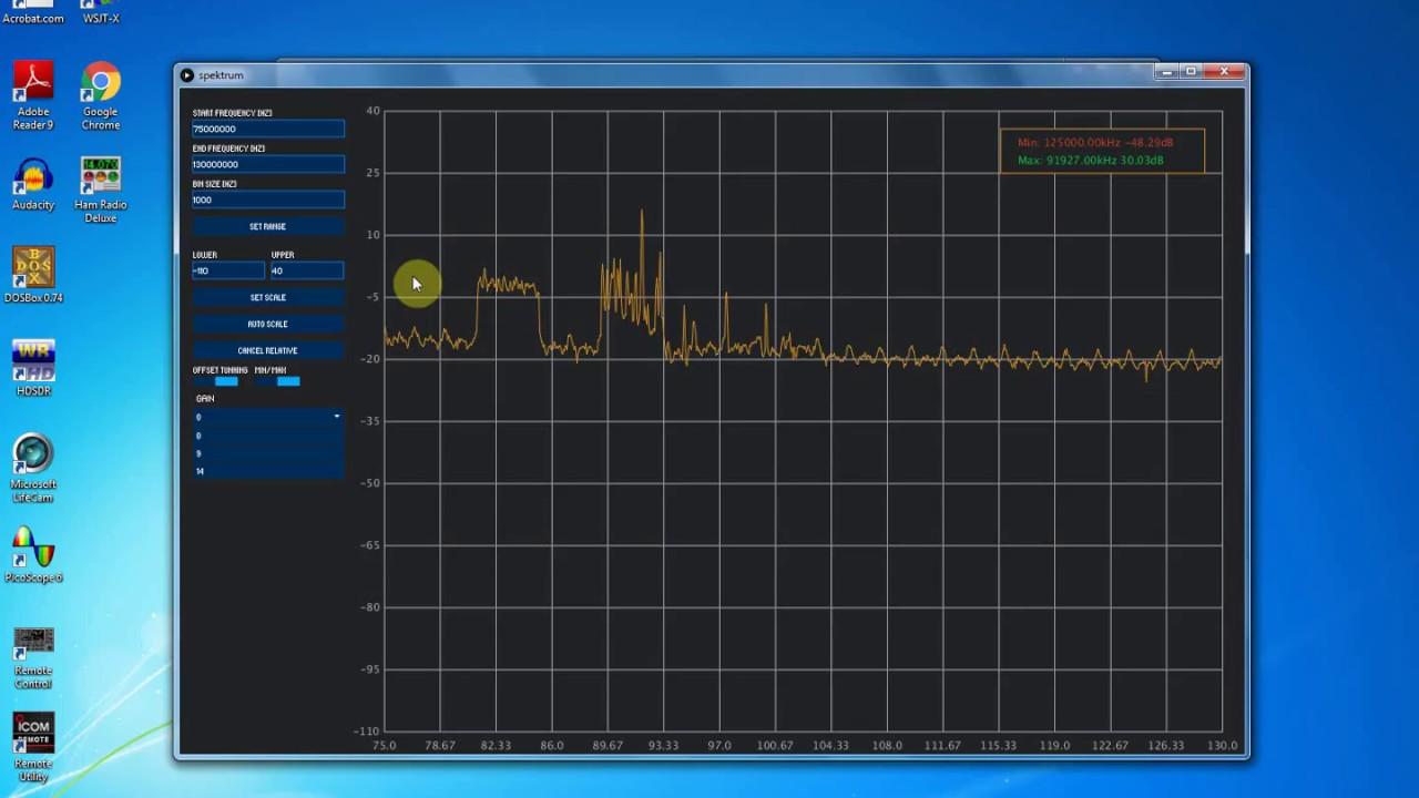 Poor Man's Spectrum Analyzer - Installing Spektrum and Testing an RTL-SDR  com 88-108 Bandstop Filter