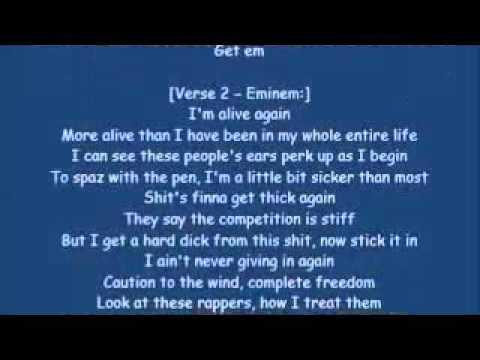 Eminem-No Love[HQ & Lyrics]