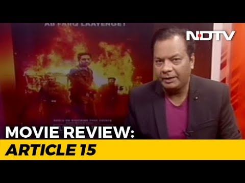 Movie Review: Article 15
