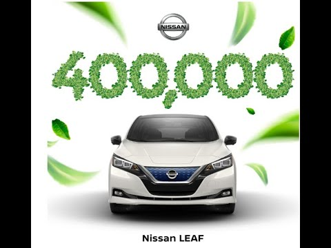 400,000 Nissan Leaf Sold Globally. Amazing!