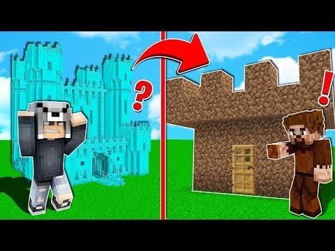 ZENGİN KALESİ VS FAKİR KALESİ! 😱 - Minecraft