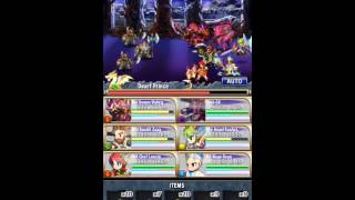[Brave Frontier] Unholy Tower Floors 51-60 Boss Fight