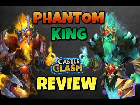 Castle Clash Phantom King Full Review!