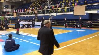 Open de France Kendo 2017: France - Kokushikan フランス(白)対委任国士舘大学(赤)