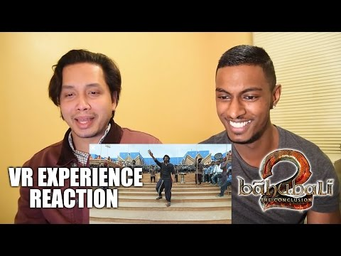 Thumbnail: Baahubali 2 – The Conclusion Trailer Movie Making of | VR Experience | Reaction by Stageflix