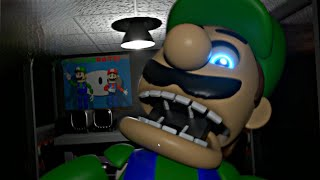 MARIO y LUIGI son ANIMATRÓNICOS - Five Nights at Mario's - 3D Remastered *Noches 1 y 2* (FNAF Game)