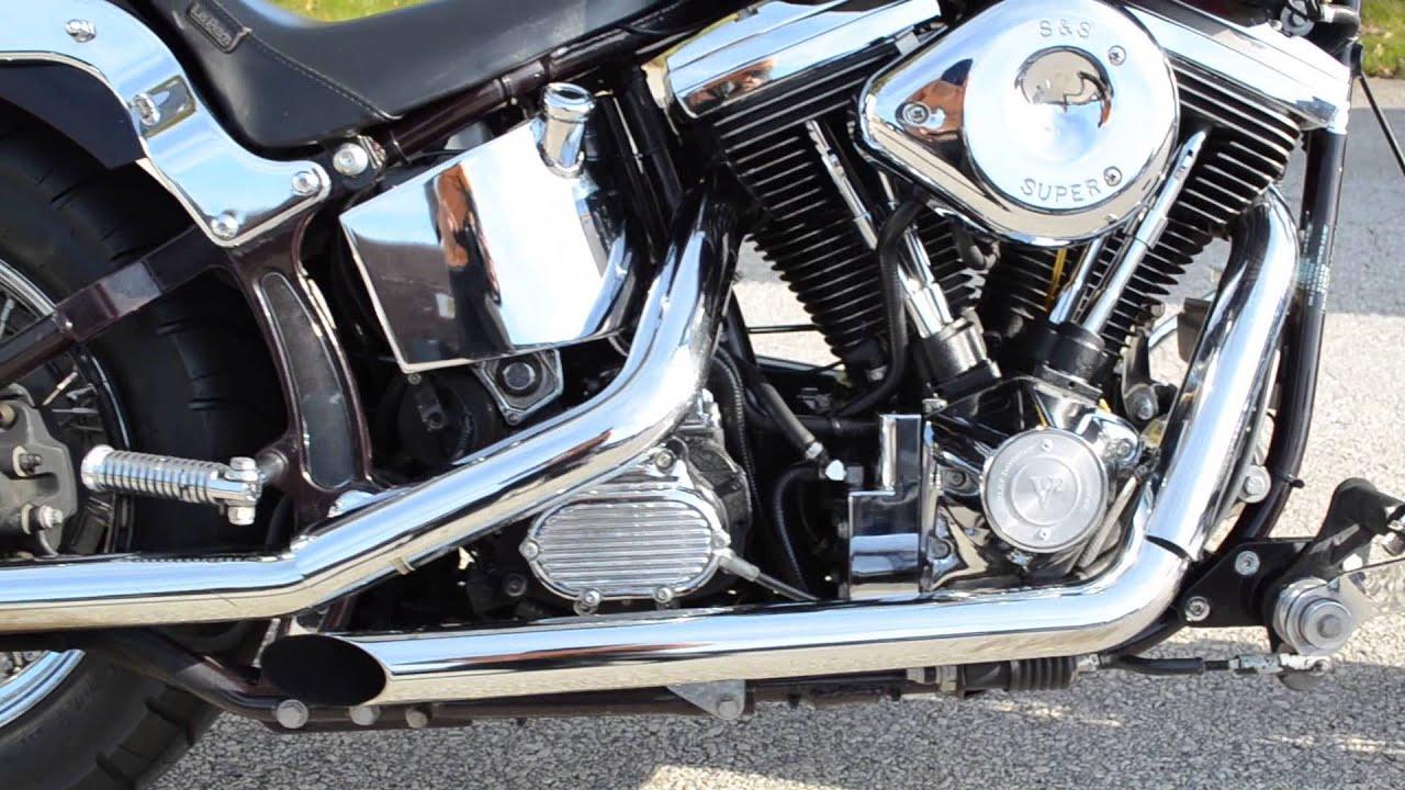 For Sale 1989 Harley Davidson FXSTC Softail Custom At East 11 Motorcycle Exchange LLC