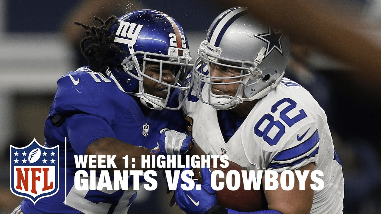 How to watch Giants vs. Cowboys, Patriots vs. Steelers and more NFL week 1 games without cable