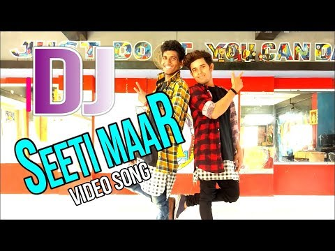 Seeti Maar  | DJ  Duvvada Jagannadham ||Video Songs MOONLIGHT CHOREOGRAPHY BY AJAY KUMAR