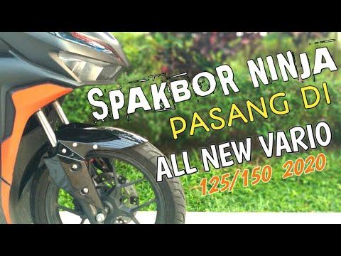 Pasang Spakbor Ninja Di Honda All New Vario 125/150 2020