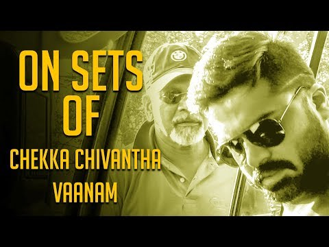 Simbu and Mani Ratnam in Action! Chekka Chivantha Vaanam