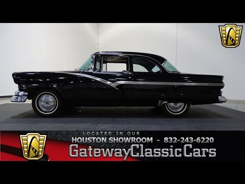 734 HOU 1956 Ford Fairlane Gateway Classic Cars Houston