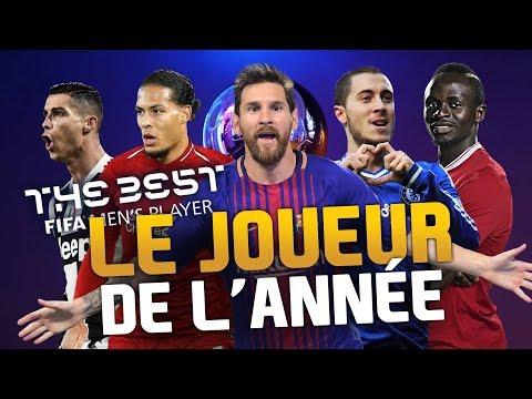 THE BEST - LE JOUEUR DE L' ANNÉE !