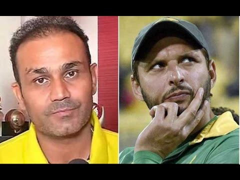 Virender Sehwag and Shahid Afridi Tweet on Surgical Strikes By Indian Army