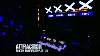 Attraction make Amanda Holden CRY! | Britain's Got Talent