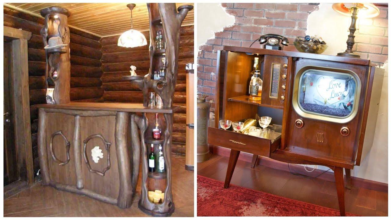 Home bar! 80 beautiful ideas for mini bars, bar counters, wine cabinets!