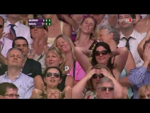 Rafael Nadal v. Andy Murray | Wimbledon 2010 SF Highlights HD